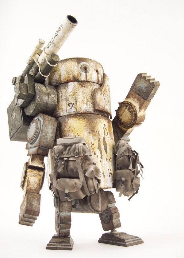 Large Martin Ashley Wood World War Robot action figure