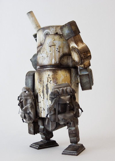 Large Martin Ashley Wood World War Robot Action Figure