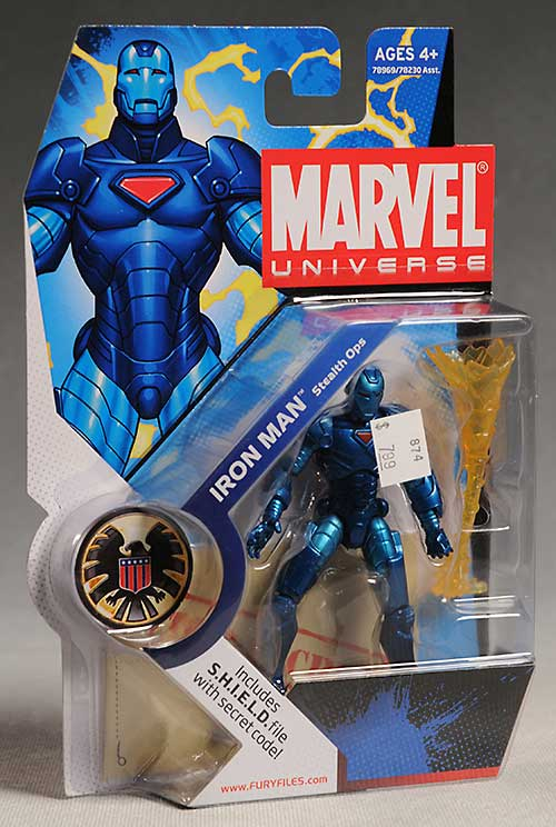 Marvel Universe Iron Man Stealth Armor action figure by Hasbro