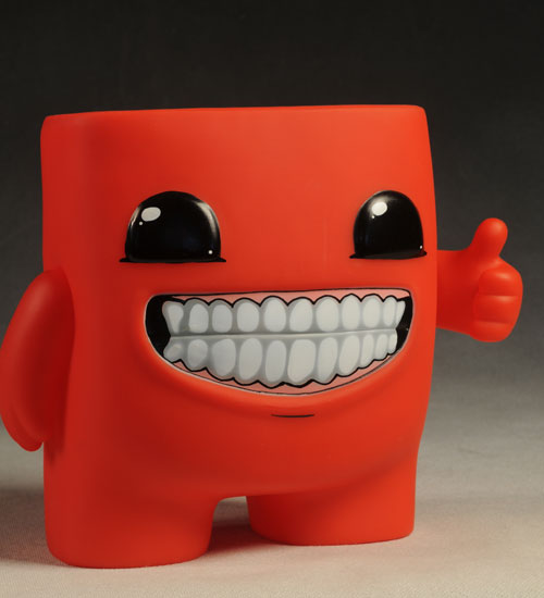Boy Toys Packaging : Super meat boy vinyl figure another pop culture