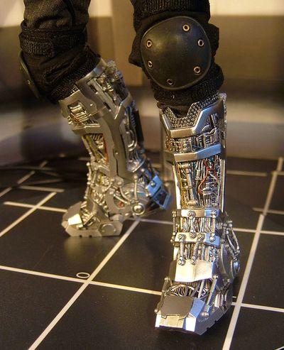 mech test tony stark iron man sixth scale action figure