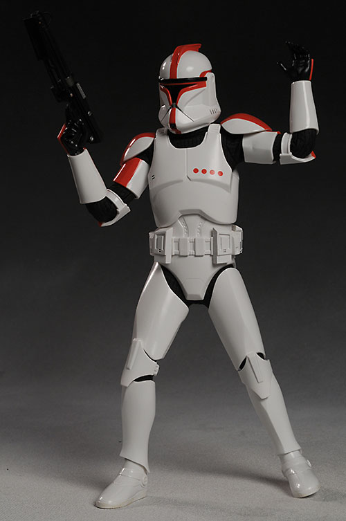 Clone Trooper Captain Star Wars action figure by Medicom Toys