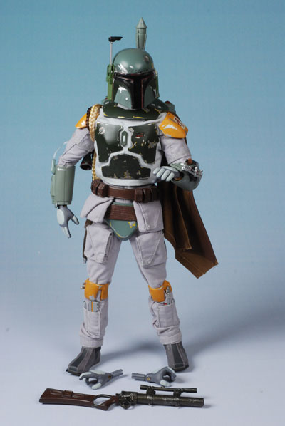 New Medicom Toy RAH Real Action Heroes Star Wars Boba Fett Figure