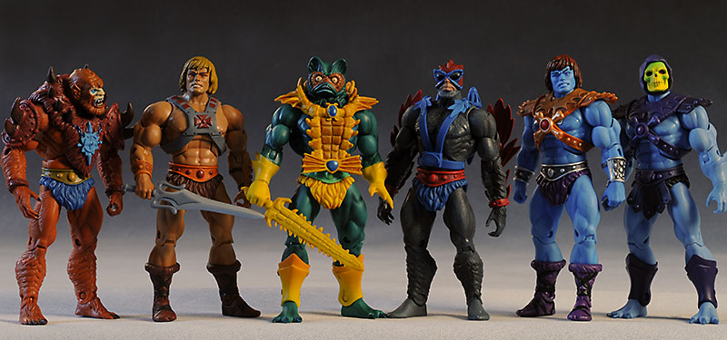Mer-man Masters of the Universe Classics action figure by Mattel