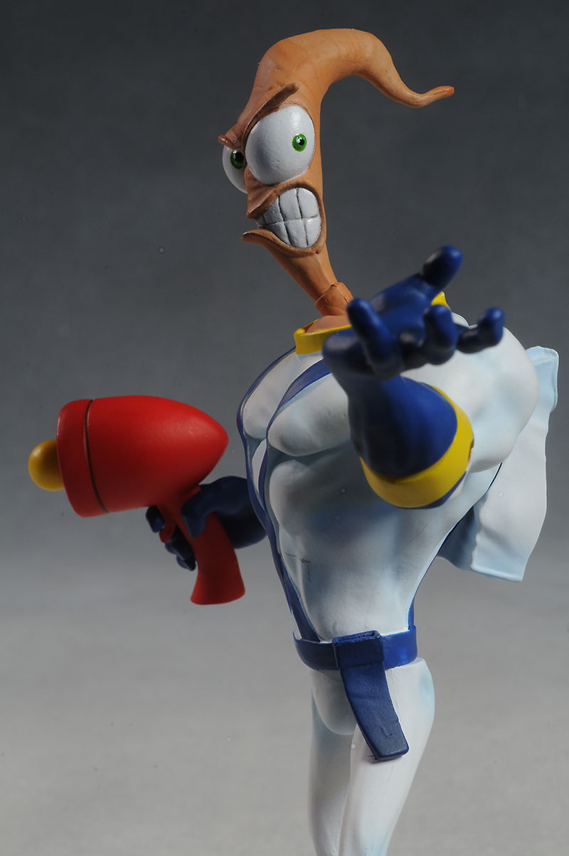 Earthworm Jim action figure by Mezco Toyz