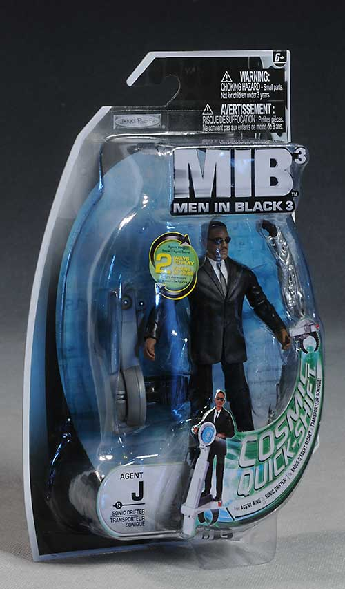Men in Black 3 action figures by Jakks Pacific