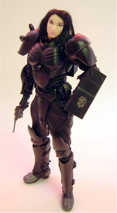 Midori Washio Cy Girls Kerberos Panzer Cop action figure - Another Pop