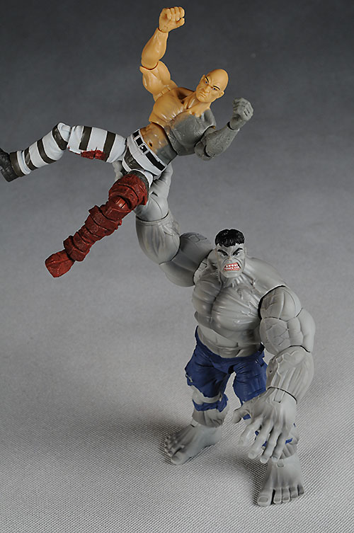 Marvel Legends Hulk wave Savage Grey Hulk, Absorbing Man action figures