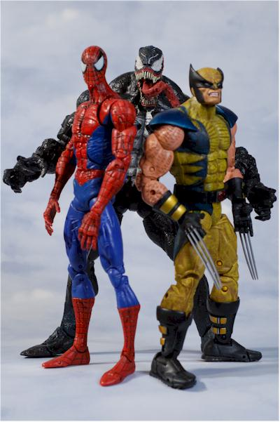 marvel legends icons beast and spider