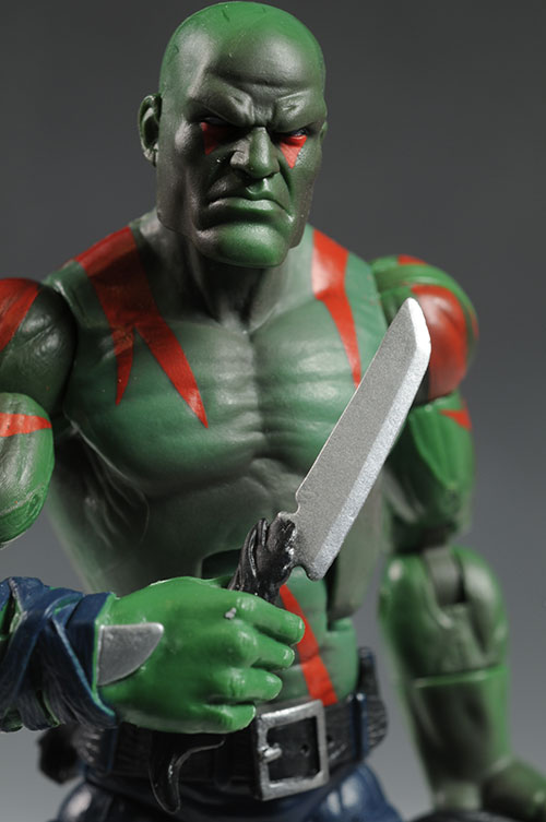 Drax Marvel Legends action figures by Hasbro