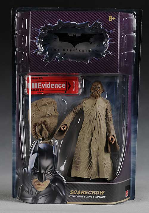 Mattel Movie Masters Batman Begins Scarecrow action figure