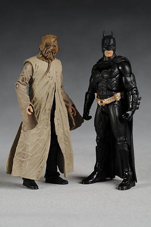 Mattel Movie Masters Batman Begins Scarecrow action figures