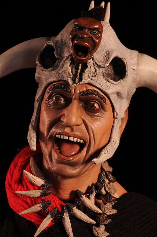 Indiana Jones Mola Ram Premium Format Statue by Sideshow Collectibles