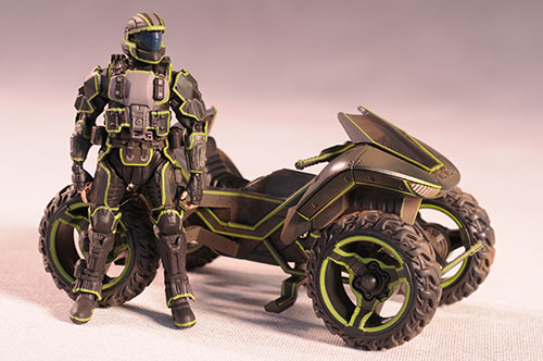 Halo Mongoose action figure vehicle by Mcfarlane Toys