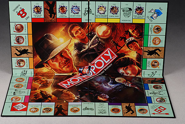 Indiana Jones Monopoly board game
