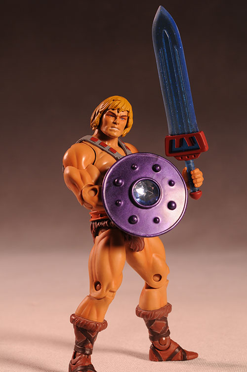 Masters of the Universe Classics MOTUC sheilds and swords for action figures by Spy Monkey Creations