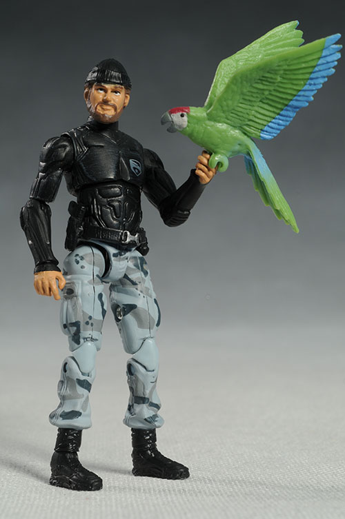 Shipwreck G.I. Joe movie rise of the cobra action figure by Hasbro