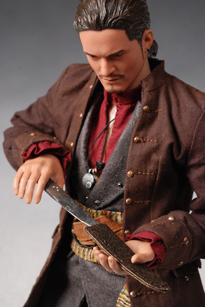 hot toys pirates of the caribbean will turner action figure