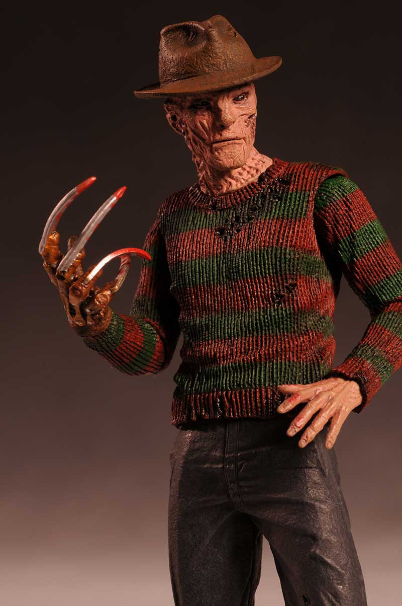Freddy Krueger Nightmare on Elm Street remake action figure by NECA