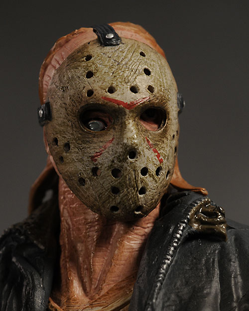 Friday the 13th remake Jason action figure from Mezco Toyz