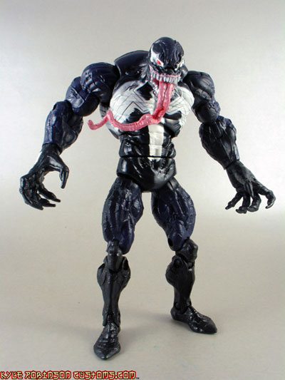 Spider-man and Venom action figures by Hasbro