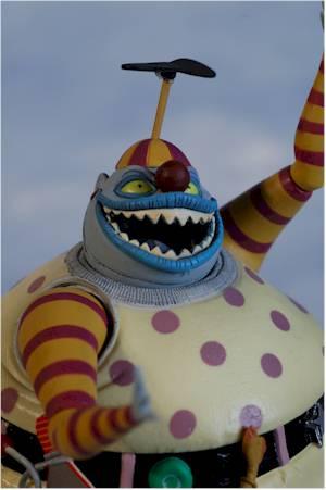 Nightmare Before Christmas Clown.Nightmare Before Christmans Series 5 Action Figures