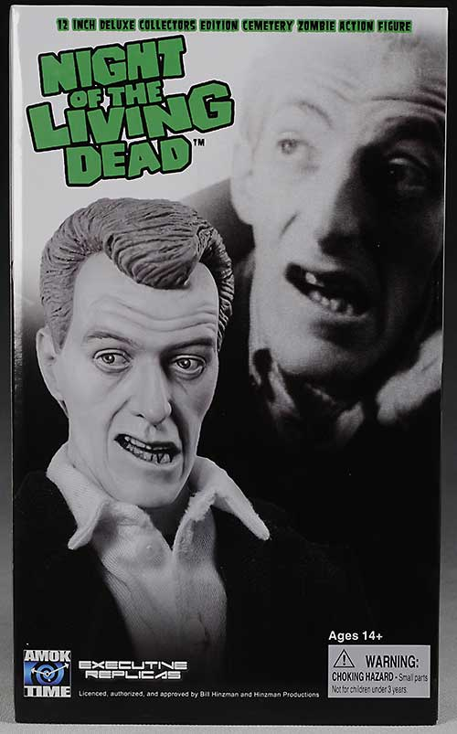 Amok Time Bill Heinzman Night of the Living Dead Zombie action figure