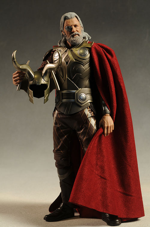 Odin Thor movie sixth scale action figure by Hot Toys
