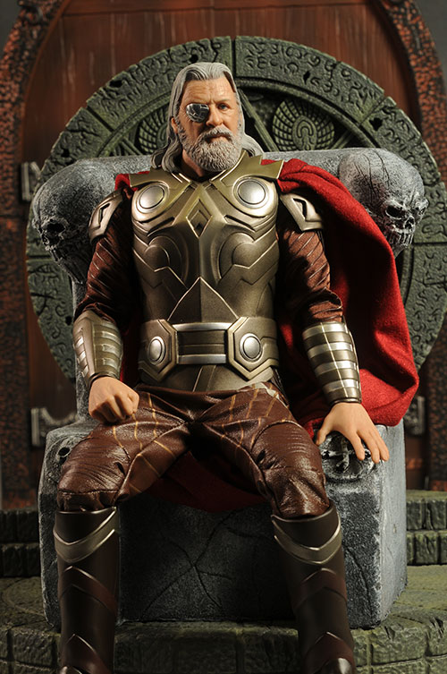 Odin Thor movie sixth scale action figure - Another Pop ...