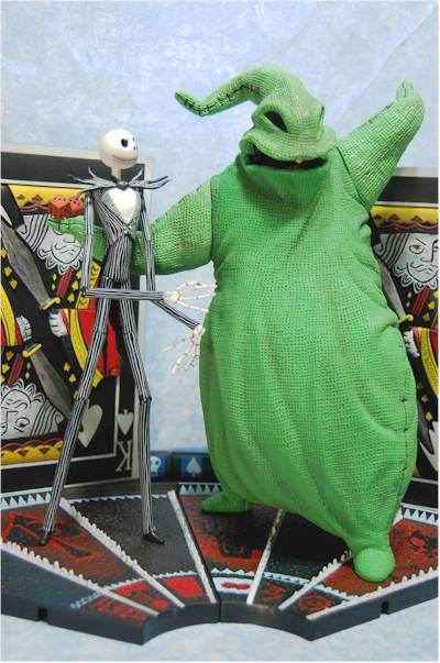 Nmbc Jack Skellington Vs Oogie Boogie Action Figures