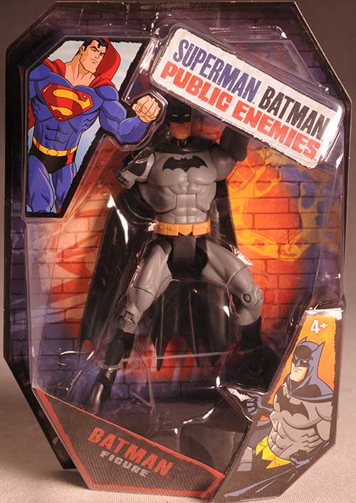 Public Enemies Superman Batman action figures by Mattel