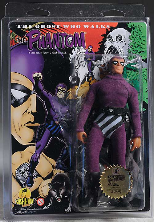 The Phantom action figure by Cast Away Toys
