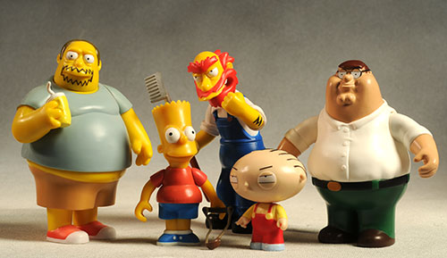 Family Guy Peters Toy Design : Family guy series interactive talking action figures