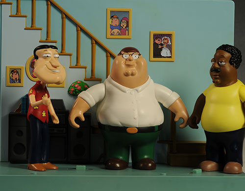 Family Guy action figures by Playmates Toys