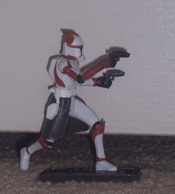 Star Wars Clone Wars Commander Ponds Clone Trooper Action Figure