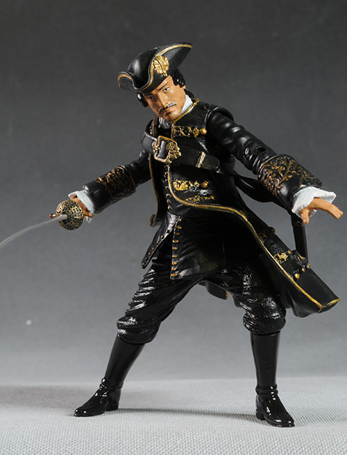 Spanish Officer Pirates of the Caribbean On Stranger Tides action figure by Jakks