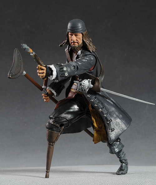 Captain Barbossa Pirates of the Caribbean On Stranger Tides action figure by Jakks