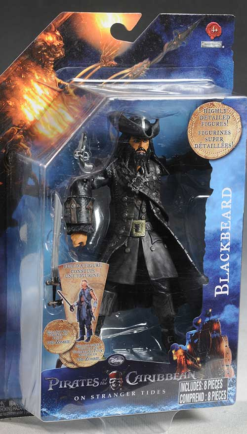 Pirates of the Caribbean action figures by Jakks