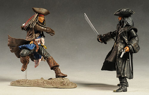 Pirates of the Caribbean On Stranger Tides action figures by Jakks