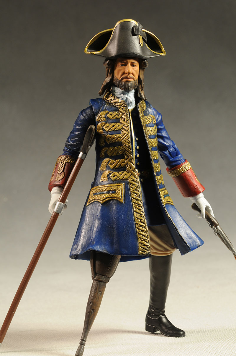 Barbossa Pirates of the Caribbean On Stranger Tides action figure by Jakks