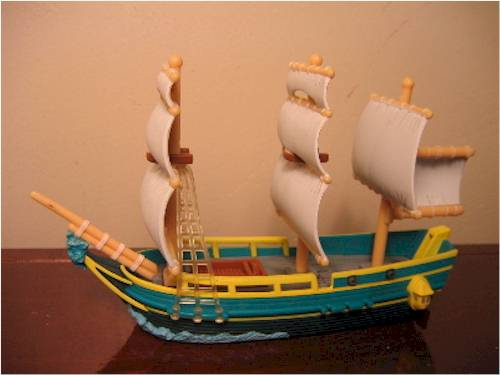 Pirates of the Caribbean Pirate Fleet - Another Toy Review by Michael Crawford, Captain Toy
