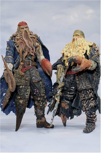 Pirates of the Caribbean Dead Man's Chest action figures - Another Toy Review by Michael ...