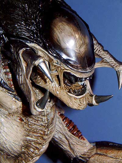 Handmade PREDALIEN Alien vs. Predator Alien Queen Figure ...