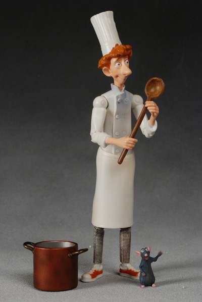Ratatouille Linguini Action Figure Another Pop Culture Collectible Review By Michael Crawford Captain Toy