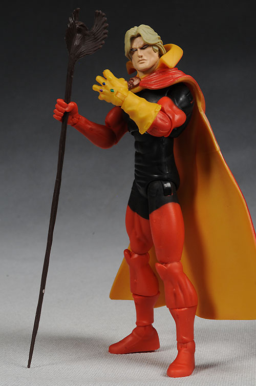 Marvel Legends Red Hulk wave Adam Warlock action figure