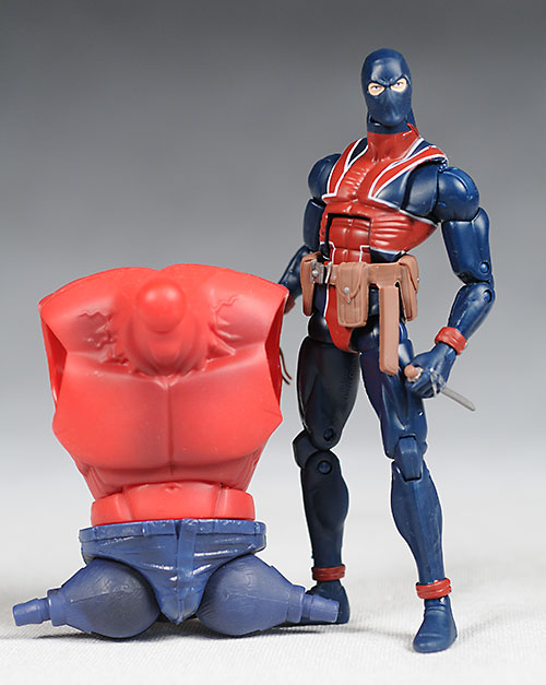 Marvel Legends Red Hulk wave Union Jack action figure