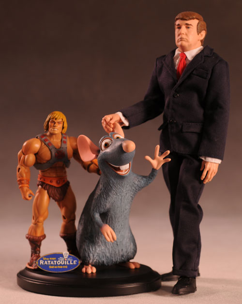 Ratatouille Remy statue by Gentle Giant