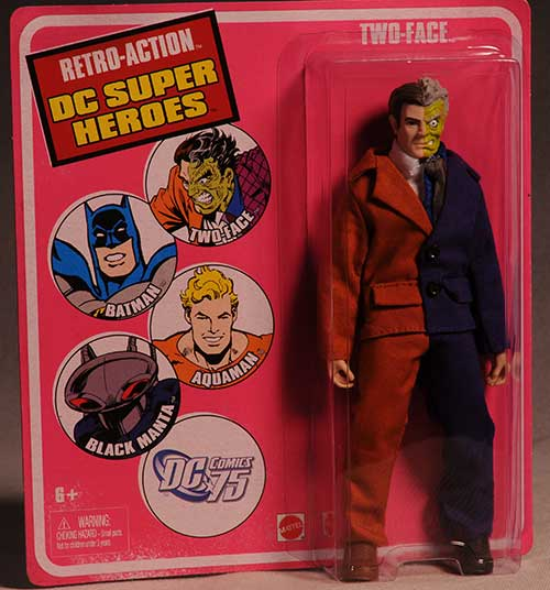 Retro Action series 2 Two Face action figure by Mattel