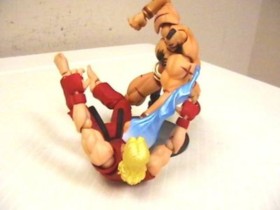 Street Fighter Revoltech action figures from Kaiyodo