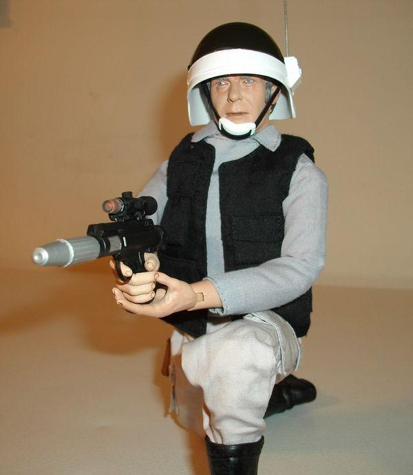 Star Wars Nerf Rebel Trooper DH-17 Blaster Dart Gun 2006 Hasbro Laser  Cosplay